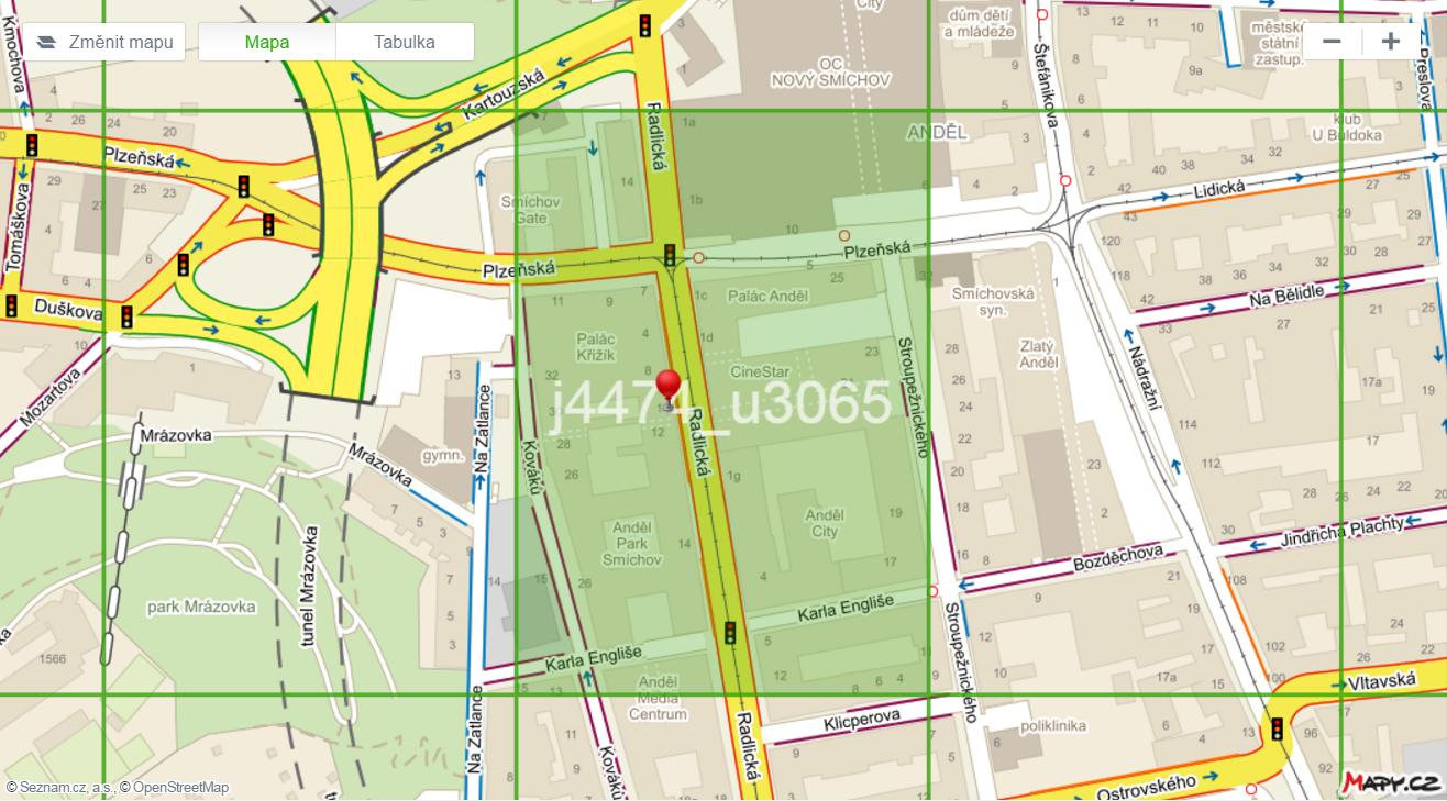 O haptických mapách | Seznam Nápověda
