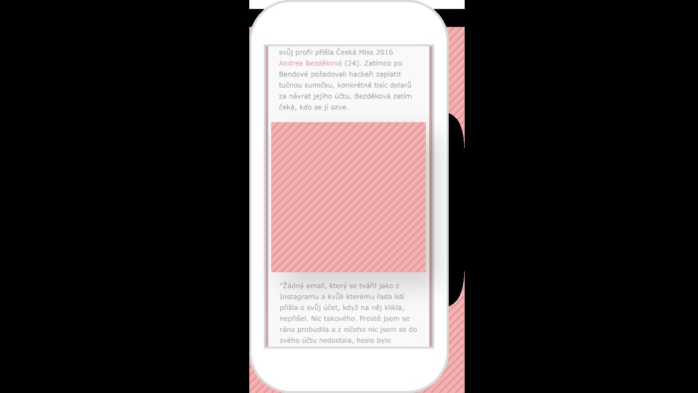 Example of a mobilni square premium